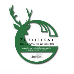 Zertifikat_gruen